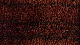 Entra Designer Coir Matting 17mm Red/Boreaux m2 (2m Wide)