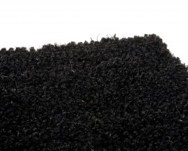 Entra Coir Matting 17mm Black m2 (Roll = 1m Wide x 12.5m Long)