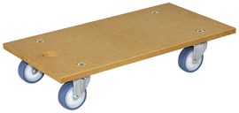 TRANSPORT HELPER MM1117 575x300mm,MDF4xTC,d75mm,soft,PB,LC200kg